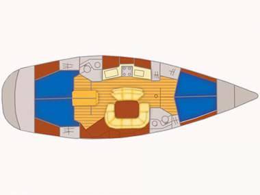 Sun Odyssey 45 (CBM Realtime) - Primošten - Charter plavidlá Chorvátsko