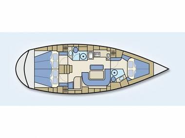 Bavaria 42 Cruiser (CBM Realtime) - Punat - Charter ships Croatia