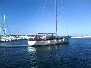 D&D Kufner 54 (CBM Realtime) - Trogir - Czarter statki Chorwacja