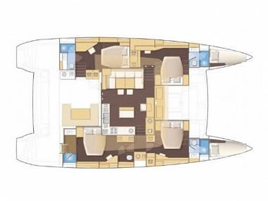 Lagoon 380 S2 (CBM Realtime) - Sibenik - Charter navi Croazia