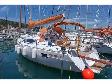 Elan 45 Impression (CBM Realtime) - Split - Charter ships Croatia