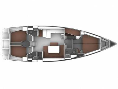 Bavaria Cruiser 51 (CBM Realtime) - Split - Charter plovila Hrvatska