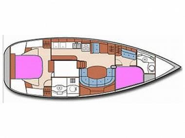 Oceanis 40 (CBM Realtime) - Split - Charter embarcation Croatie