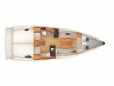 Sun Odyssey 349 (CBM Realtime) - Split - Charter ships Croatia