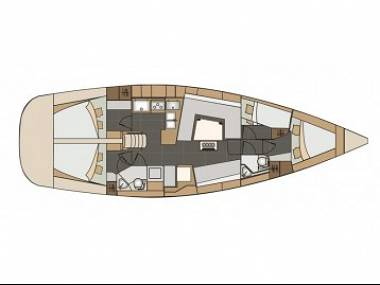 Elan 45 Impression (CBM Realtime) - Punat - Charter ships Croatia