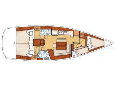 Oceanis 43 (CBM Realtime) - Primosten - Charter hajókHorvátország