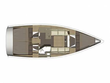 Dufour 350 GL (CBM Realtime) - Sibenik - Czarter statki Chorwacja