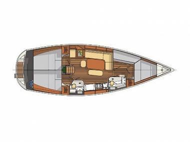 Delphia 40 (CBM Realtime) - Kastel Gomilica - Czarter statki Chorwacja