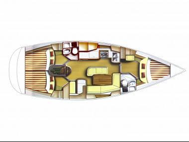 Gib Sea 41 (CBM Realtime) - Pula - Charter plavidlá Chorvátsko