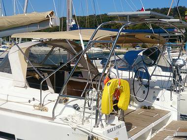 Dufour 410 Grand Large (CBM Realtime) - Kastel Gomilica - Charter embarcation Croatie