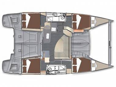 Lipari 41 (CBM Realtime) - Kastel Gomilica - Charter ships Croatia