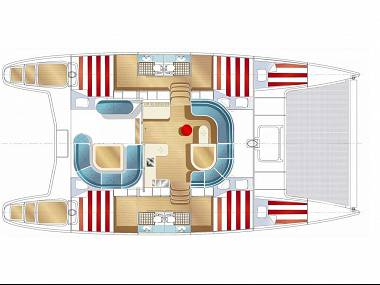 Nautitech 44 (CBM Realtime) - Kastel Gomilica - Charter embarcation Croatie