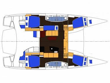 Salina 48 (CBM Realtime) - Kastel Gomilica - Charter boten Kroatië
