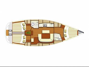 Dufour 385 (CBM Realtime) - Pula - Charter Boote Kroatien
