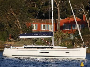 Dufour 405 (CBM Realtime) - Kastel Gomilica - Czarter statki Chorwacja