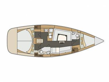 Elan 40 Impression (CBM Realtime) - Biograd - Charter embarcation Croatie