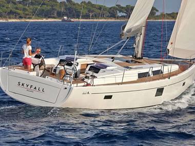 Hanse 455 (CBM Realtime) - Kaštel Gomilica - Charter plovila Hrvatska