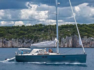Hanse 540 (CBM Realtime) - Kastel Gomilica - Charter ships Croatia