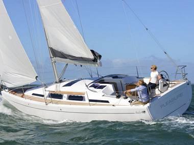 Hanse 345 (CBM Realtime) - Kastel Gomilica - Charter plavidlá Chorvátsko