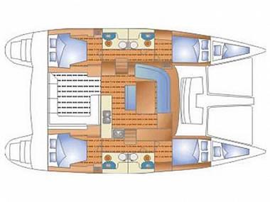 Lagoon 440 (CBM Realtime) - Dubrovnik - Charter plovila Hrvaška