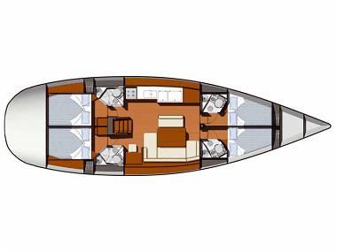 Sun Odyssey 49i (CBM Realtime) - Sukosan - Charter Boote Kroatien