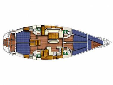 Sun Odyssey 52.2 (CBM Realtime) - Sukosan - Charter embarcation Croatie