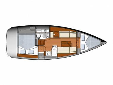 Sun Odyssey 33i (CBM Realtime) - Sibenik - Charter navi Croazia