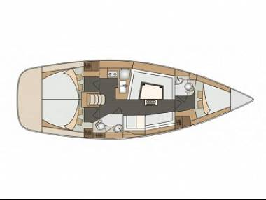 Elan 40 Impression (CBM Realtime) - Sibenik - Czarter statki Chorwacja