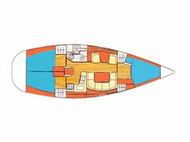 Sun Odyssey 40.3 (CBM Realtime) - Šibenik - Charter plavidlá Chorvátsko
