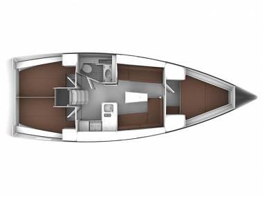 Bavaria Cruiser 37 (CBM Realtime) - Seget Donji - Charter plovila Hrvaška