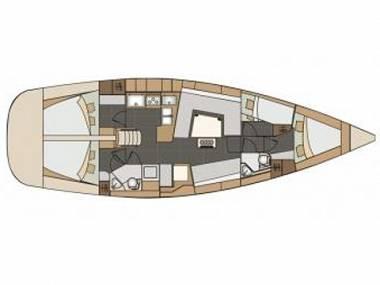 Elan 45 Impression (CBM Realtime) - Zadar - Charter ships Croatia