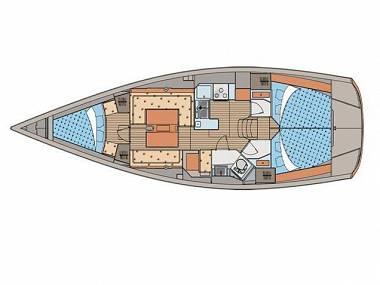Elan 410 (CBM Realtime) - Skradin - Charter boten Kroatië