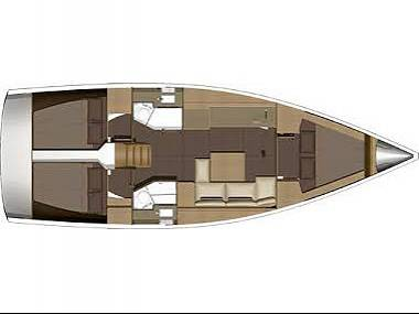 Dufour 382 GL (CBM Realtime) - Sibenik - Charter ships Croatia