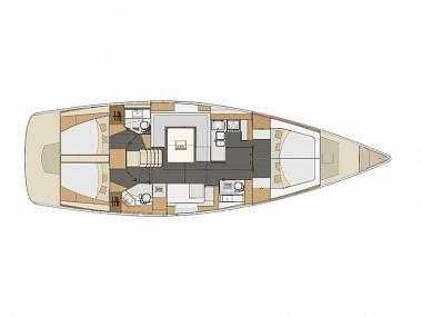 Elan 494 Impression (CBM Realtime) - Kastel Gomilica - Charter Boote Kroatien