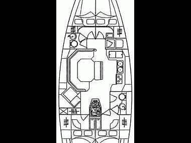 Elan 45 (CBM Realtime) - Kastel Gomilica - Charter Boote Kroatien
