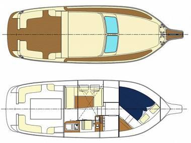 Oceanis 38 (CBM Realtime) - Biograd - Charter ships Croatia