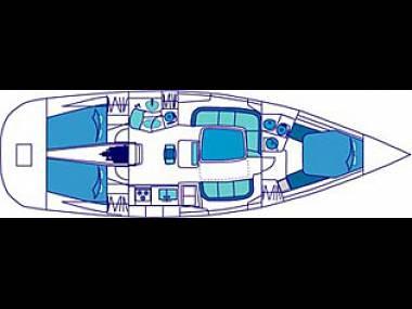 Feeling 44 (CBM Realtime) - Sukosan - Charter ships Croatia