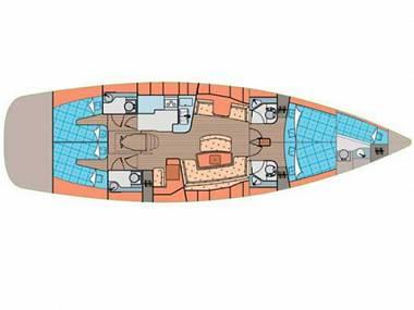 Elan 514 Impression (CBM Realtime) - Sukošan - Charter plovila Hrvatska