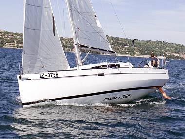 Elan 350 (CBM Realtime) - Biograd - Charter ships Croatia