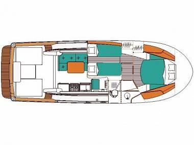 Antares 10.80 (CBM Realtime) - Zadar - Charter ships Croatia