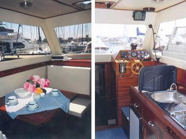 Adria 28 Luxus (CBM Realtime) - Brbinj - Charter hajókHorvátország