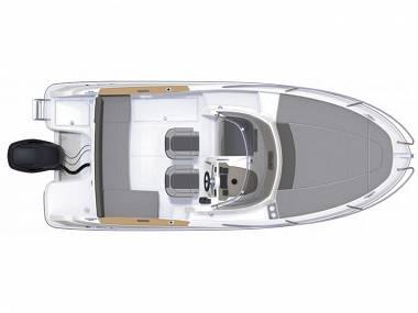 Jeanneau Cap Camarat 6.5 WA (CBM Realtime) - Trogir - Charter Boote Kroatien