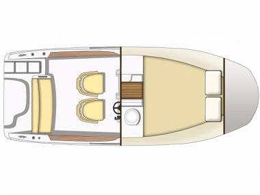 Sessa Marine Key Largo 20 (CBM Realtime) - Trogir - Czarter statki Chorwacja