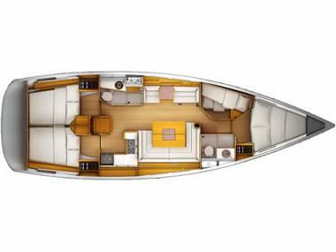 Sun Odyssey 439 (CBM Realtime) - Seget Donji - Charter Boote Kroatien