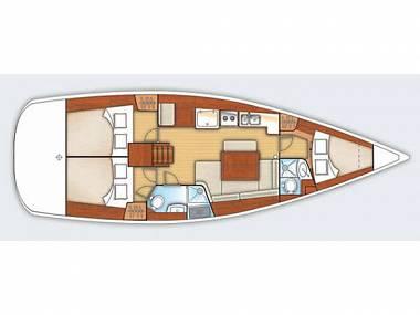 Oceanis 40 (CBM Realtime) - Zadar - Charter Boote Kroatien
