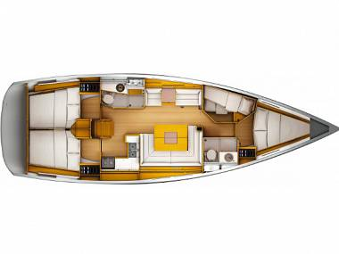 Sun Odyssey 45DS (CBM Realtime) - Biograd - Charter Boote Kroatien