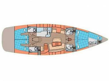 Elan 514 Impression (CBM Realtime) - Biograd - Charter Boote Kroatien