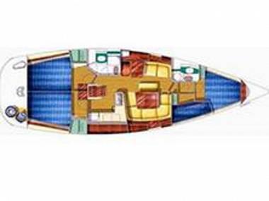 Sun Odyssey 43  (CBM Realtime) - Biograd - Charter hajókHorvátország