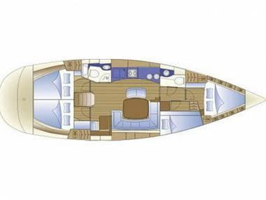 Bavaria 44 (CBM Realtime) - Biograd - Charter ships Croatia