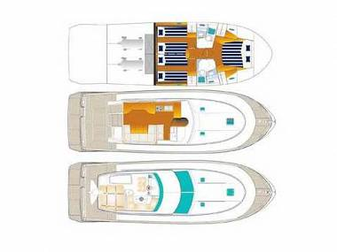 Antares 13.80 (CBM Realtime) - Sukosan - Charter boten Kroatië